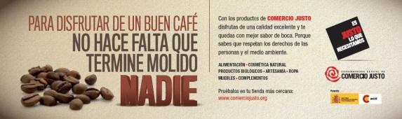 Un año más queremos invitaros a todas y todos al Día Mundial del Comercio Justo, que tendrá lugar en El Arenal, de Bilbao de 11h a 20h.  Tendrán lugar diversas actividades como la venta de productos de comercio justo, txozna, talleres, juegos y actuaciones.  Os esperamos!!